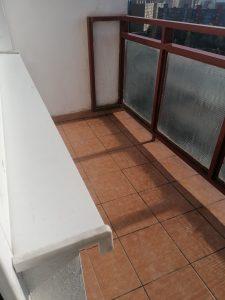 vycisteny balkon